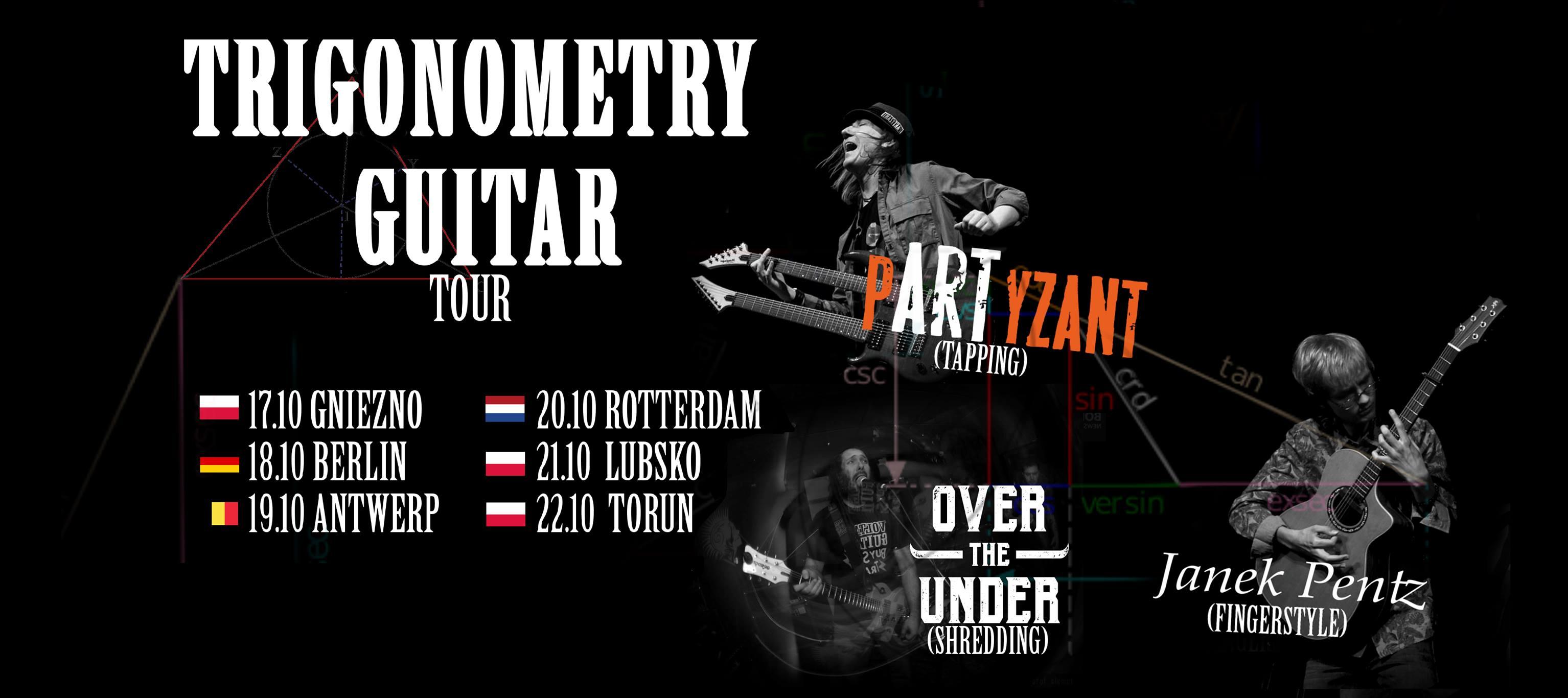 Bildergebnis für Trigonometry guitar tour